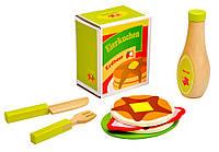 4100106 Набор для приготовления блинов деревянный (9эл.)