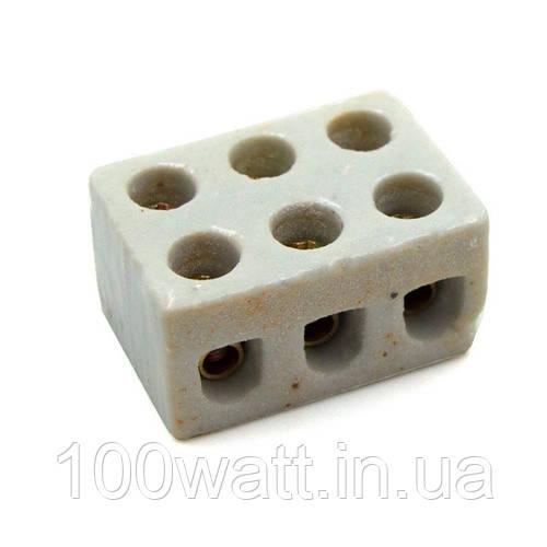 Клеммная колодка керамическая 3LINE 30А GAV135