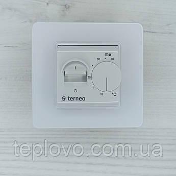 Терморегулятор механічний  terneo mex (білий) для теплої підлоги