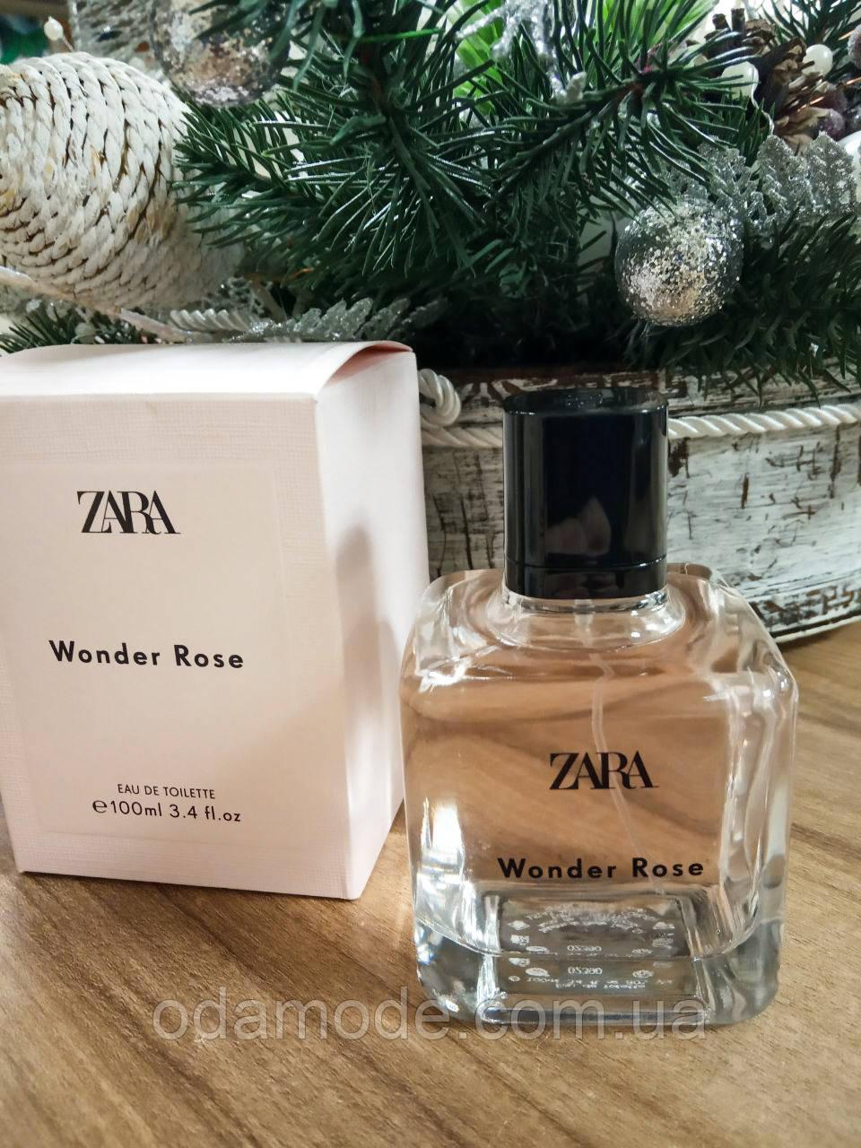Духи женские Zara Wonder Rose edt Испания 100 мл