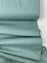 Сатин (бавовняна тканина) шавлія однотон