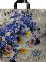 Пакет петля 38*44 Полевые цветы