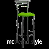 Стул барный Марко Хокер alum кожзам салатовый для кухни, бара, летней площадки