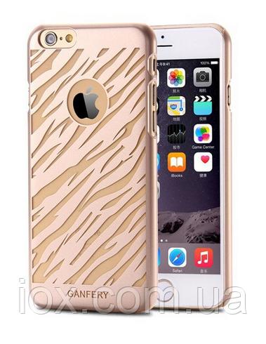 Золотой пластиковый чехол для Iphone 6
