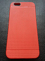 Красный силиконовый чехол для Iphone 6
