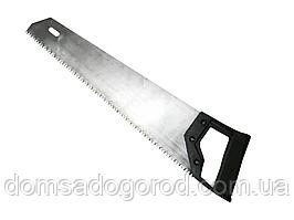 Ножовка по дереву 450 мм черная ручка