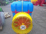 Опрыскиватель садовый с пластмассовыми форсунками Velmet 200 л (Польша)
