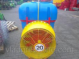 Опрыскиватель садовый с медным редукторным вентилятором 300 л (Польша)