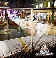 Перила металлические для центральных улиц без ригелей из нержавеющей стали, фото 1