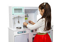 Детская деревянная кухня AVKO Милана, звуковые и световые эффекты, фото 2