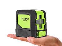 Лазерный уровень Huepar HP-9011G - нивелир с 2 диодами OSRAM, зелёные лучи, фото 1
