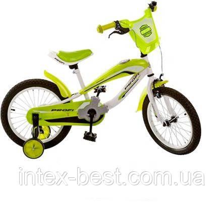 Детский двухколесный велосипед PROFI 12д (арт. SX12-01-4), зеленый