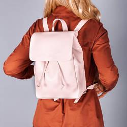 Рюкзак женский городской,пошив из натуральной кожи в любом цвете.
