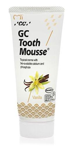 GC Tooth Mousse Зубний крем для укріплення емалі (ваніль) 35г