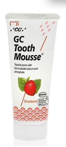 GC Tooth Mousse Зубний крем для укріплення емалі (полуниця) 35г, фото 2