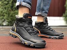 Кожаные зимние мужские ботинки Merrell, черные, фото 3