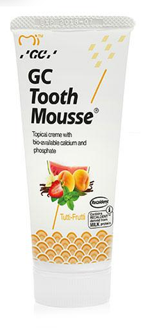 GC Tooth Mousse Зубний крем для укріплення емалі (фрукти) 35г, фото 2