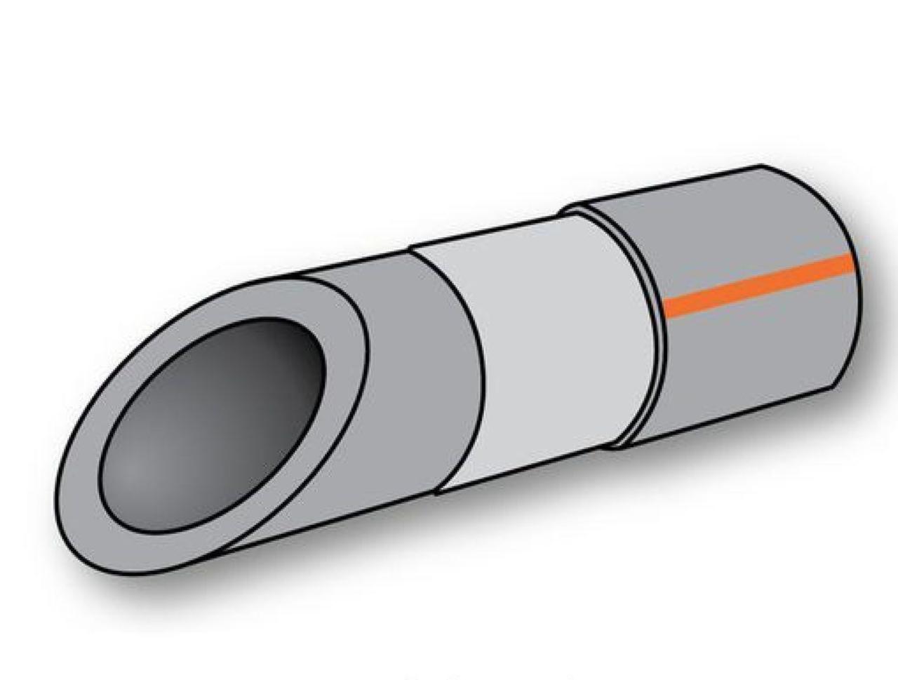Труба Полипропиленовая Композит Алюминий 25х4,2 PN 20 Koer