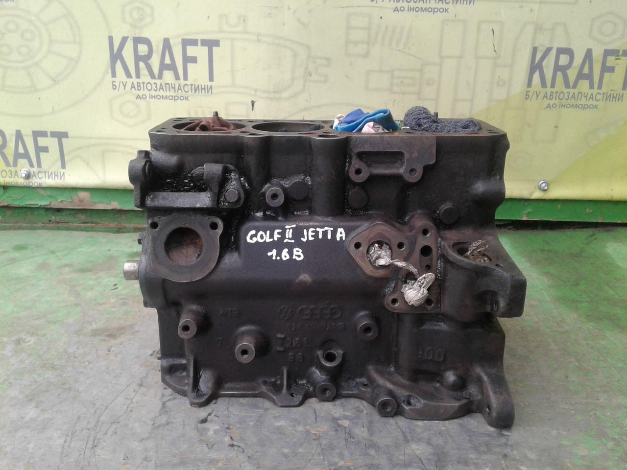 Бо блок двигуна для Volkswagen Golf II, Jetta 1.6 B, 026 103 021 B