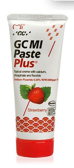 GC Mi Paste Plus Крем для фторування зубів смак полуниця (35г)
