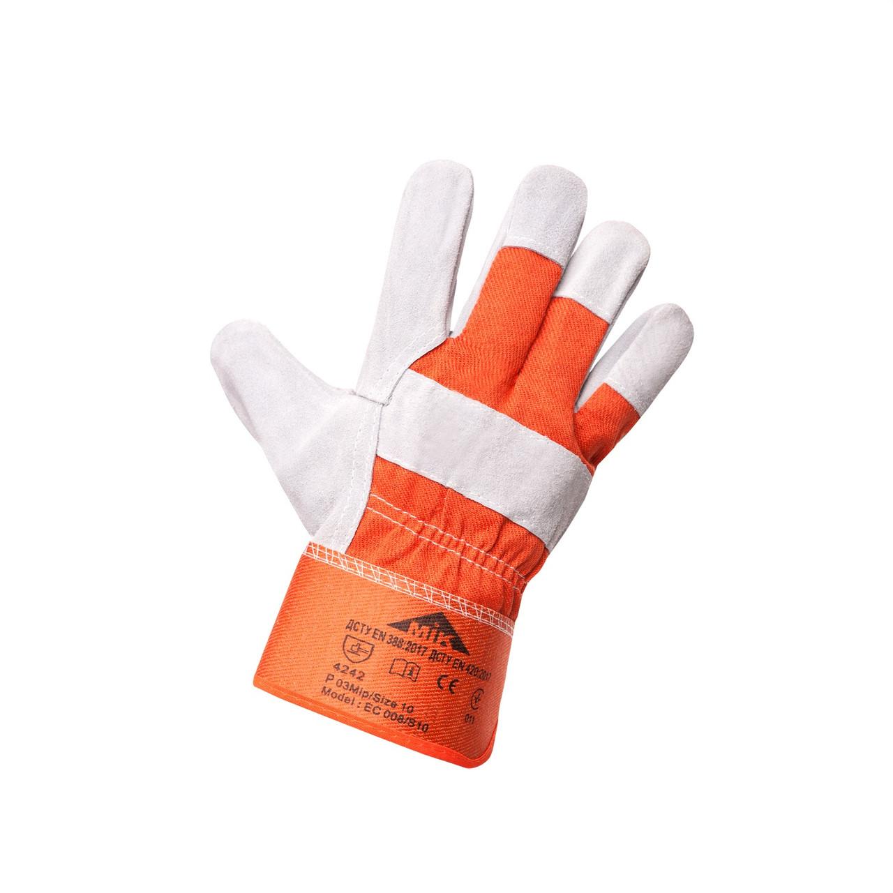 Перчатки комбинированные МИК ЕС 008 (Украина)