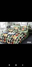 Комплект постельного белья Голд с двумя пододеяльниками