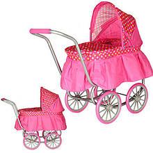 Кукольная коляска 9678 люлька для кукол пупсов