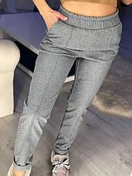 Женские теплые брюки на резинке (в расцветках)