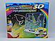 Дошка-планшет для малювання 3D Magic Drawing Board, Набір для малювання 3д магічний, 3D дошка для малювання, фото 2