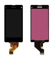 Дисплей для Sony D5503 | Xperia Z1 Compact с сенсорным стеклом (Черный) Оригинал Китай