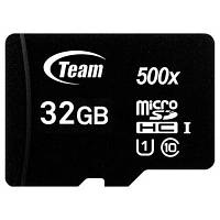 Карта памяти Team 32GB microSD class 10 UHS-I (TUSDH32GCL10U02)
