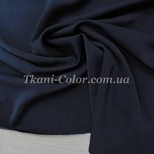 Костюмная ткань анжелика темно-синяя
