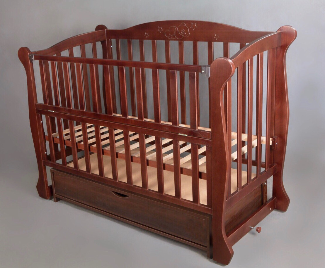 """Кроватка детская """"Звездный мишка"""" ТМ Bamboccio WS-10"""