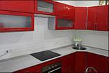 Декоративна 3D панель самоклейка під цеглу Червону 700х770х7мм, фото 3