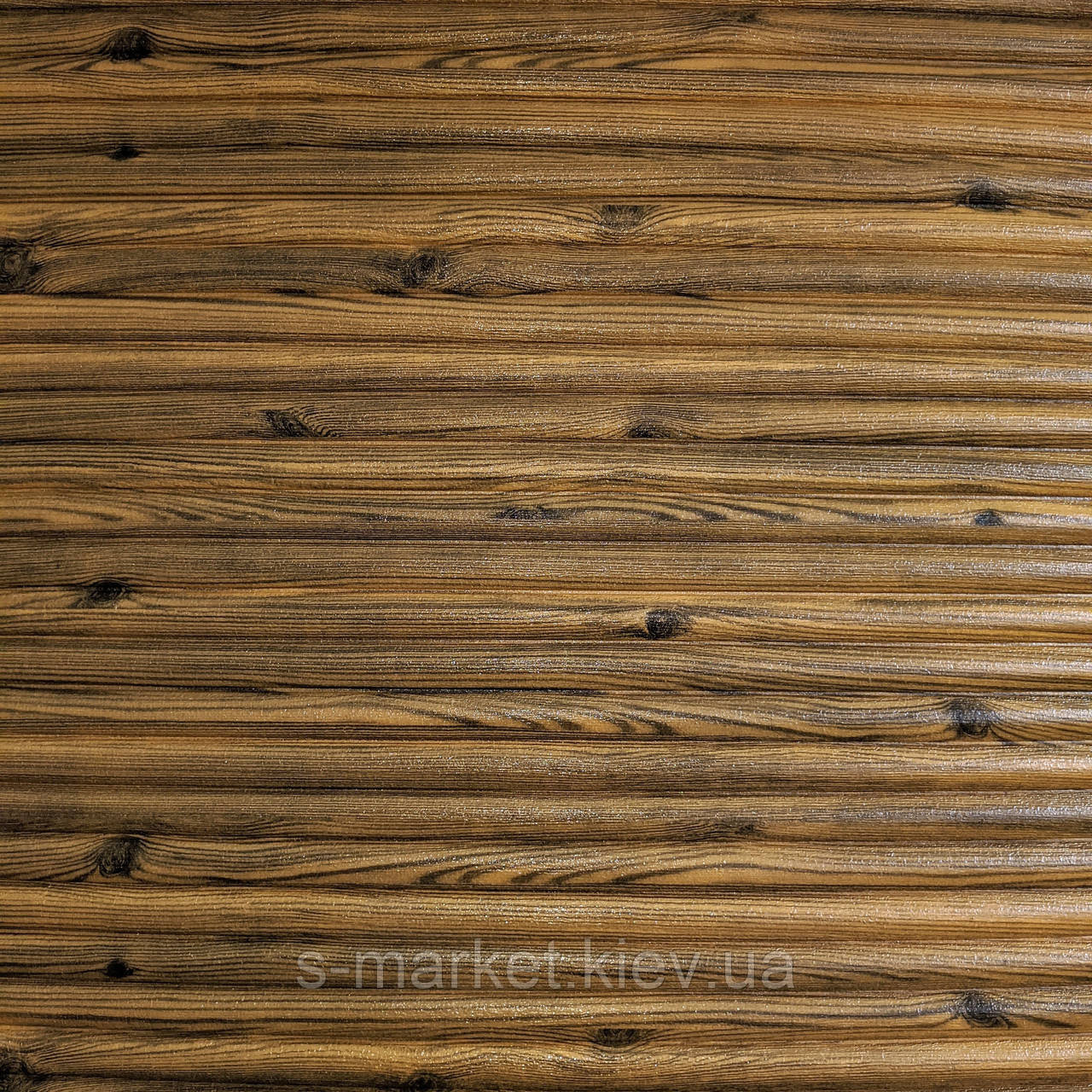 Самоклеюча декоративна 3D панель бамбук дерево 700x700x8.5мм