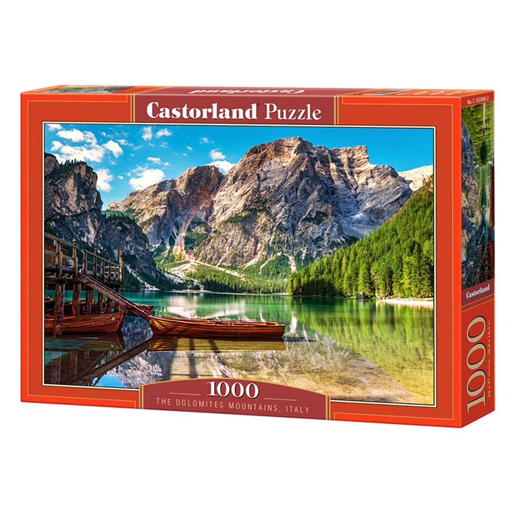 """Пазл """"Доломитовые горы, Италия"""", 1000 элементов Castorland (5904438103980)"""