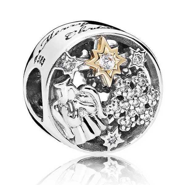 Пандора Небесный шарм Позолота Pandora 796363CZ_p