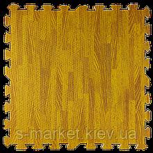 Модульне підлогове покриття 600*600*10 мм бурштинове дерево