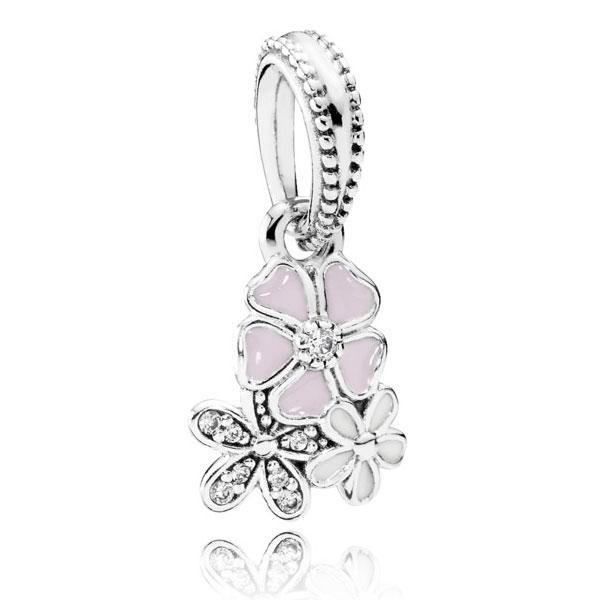 Пандора Подвеска из серебра Цветочное настроение Pandora 791824ENMX