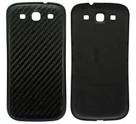 Задняя черная рефленная крышка для Samsung Galaxy S3