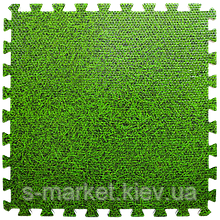 Модульне підлогове покриття 600*600*10 мм зелена трава