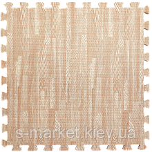 Модульне підлогове покриття 600*600*10 мм рожеве дерево