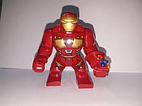 Фигурка большая маленькая Железный человек с камнями бесконечности Marvel