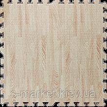 Модульне підлогове покриття 600*600*10 мм біле дерево