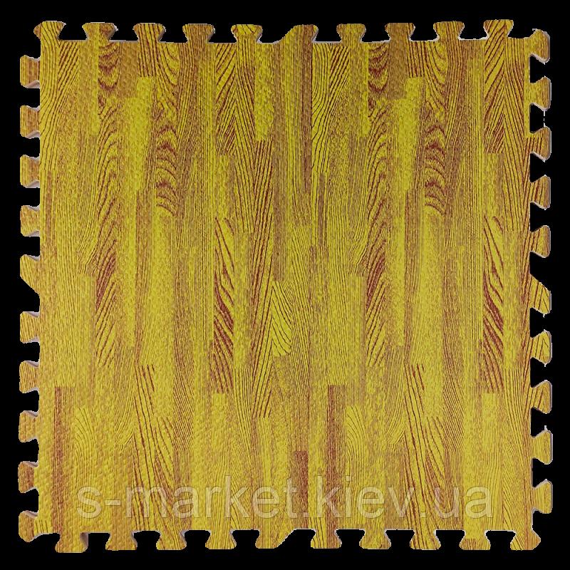Модульне підлогове покриття 600*600*10 мм жовте дерево