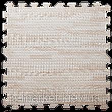 Модульне підлогове покриття 600*600*10 мм світле дерево