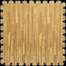 Модульне підлогове покриття 600*600*10 мм золоте дерево