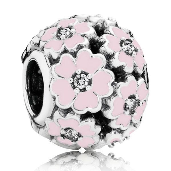 Пандора Шарм «Розовые примулы на лугу» Pandora 791488EN68
