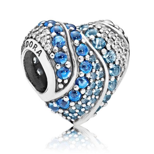 Пандора Шарм «Сердце воды» Pandora 797015NABMX