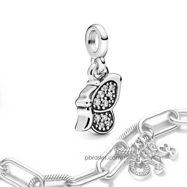 Пандора Шарм-подвеска «Моя бабочка» Pandora ME 798392CZ